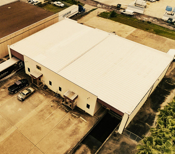 Commercial roofing in McAllen