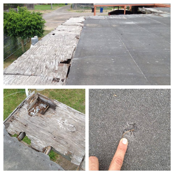 Mcallen Roof with Hail Damage
