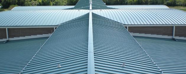 Metal Roof Valley Installation : Mcallen metal roofing installation repair replacement