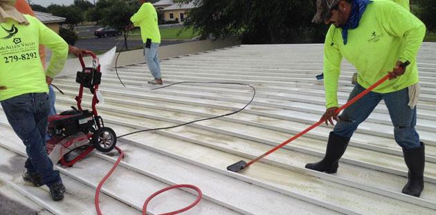 Roof Cleaning in McAllen